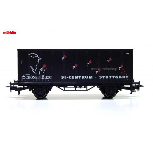 Marklin H0 4481 040 - 97731 containerwagen Musical Schone und das Biest - Modeltreinshop