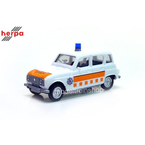 Herpa H0 942294 Renault R4 Politie (NL) - Modeltreinshop