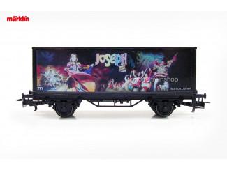 Marklin H0 4482 034 - 98708 containerwagen Musical Joseph - Modeltreinshop