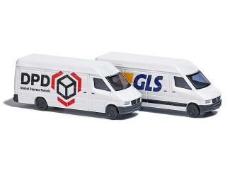 Busch N 8308 Mercedes Benz Sprinter GLS en DPD - Modeltreinshop