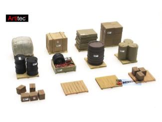 Artitec H0 387.261 Lading op pallets kant-en-klaar, geverfd - Modeltreinshop