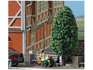 Busch H0 aktie set 7841 Vrouw op bankje met handwagen - Modeltreinshop