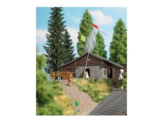 Busch H0 aktie set 7866 kinderen met vlieger - Modeltreinshop