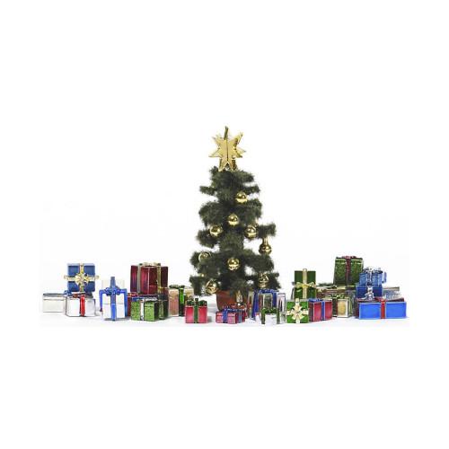 Busch H0 1140 Kerstboom met pakjes - Modeltreinshop