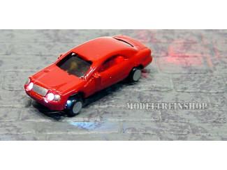 Z - Auto Rood met Voor- en Achter Led licht - Modeltreinshop