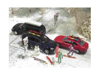 Busch H0 6004 Winter ski set - Modeltreinshop