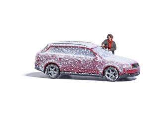 Busch H0 7859 Auto sneeuw en ijsvrij maken - Modeltreinshop