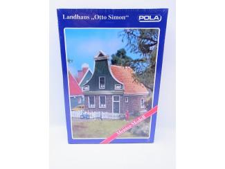 Pola HO 507 Dorpshuis Otto Simon - Zaans huisje - Modeltreinshop