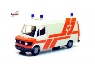 Herpa H0 042529 Mercedes Benz 207D Rettungsdienst - Modeltreinshop