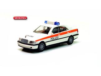 Wiking H0 10403 Mercedes Benz C200 Polizei - Modeltreinshop