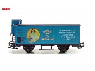 Marklin H0 31953 Gesloten Goederwagen met Remhuisje 4711 Modeltreinshop