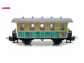Marklin H0 4107 S8 Reizigersrijtuig Dankeschön 5/89 - Modeltreinshop