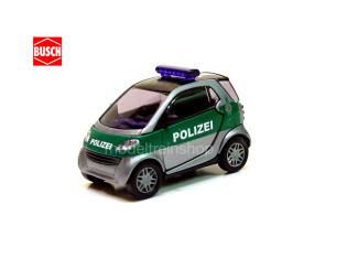 Busch H0 48910 Smart City Coupe Polizei - Modeltreinshop