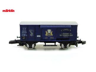 Marklin Z 80011 Gesloten goederenwagen Museum 2000 - Modeltreinshop