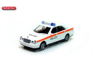 Wiking H0 10409 Polizei Mercedes Benz E230 - Modeltreinshop
