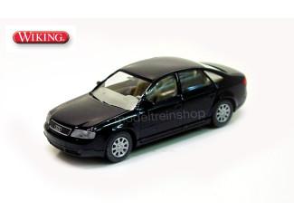 Wiking H0 1240422 Audi A6 zwart - Modeltreinshop
