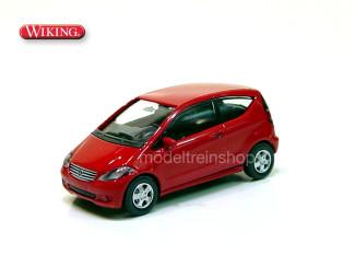 Wiking H0 1384029 Mercedes Benz A-Klasse Rood - Modeltreinshop