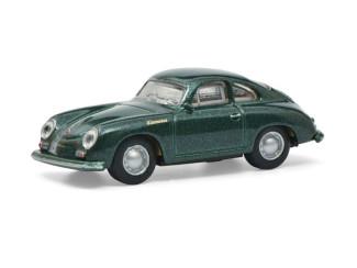 Schuco H0 26580 Porsche 356A Coupe Groen - Modeltreinshop