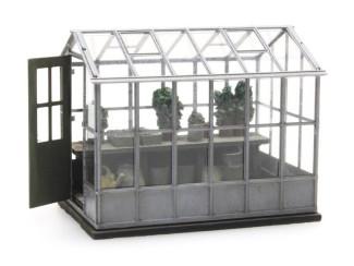 Artitec H0 387.284 Groentekas hoog kant en klaar resin, geverfd - Modeltreinshop