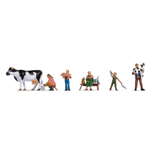 Noch H0 15609 Boeren gezin - Modeltreinshop