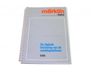 Marklin H0 0305 De Digitale besturing van de modelspoorbaan - Modeltreinshop