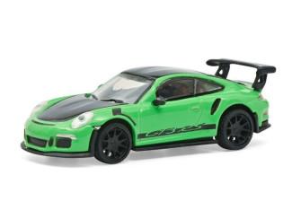 Schuco H0 26600 Porsche 911 (991) GT3 RS Groen - Modeltreinshop