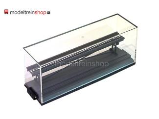 N Display van Plexiglas 194mm - Modeltreinshop