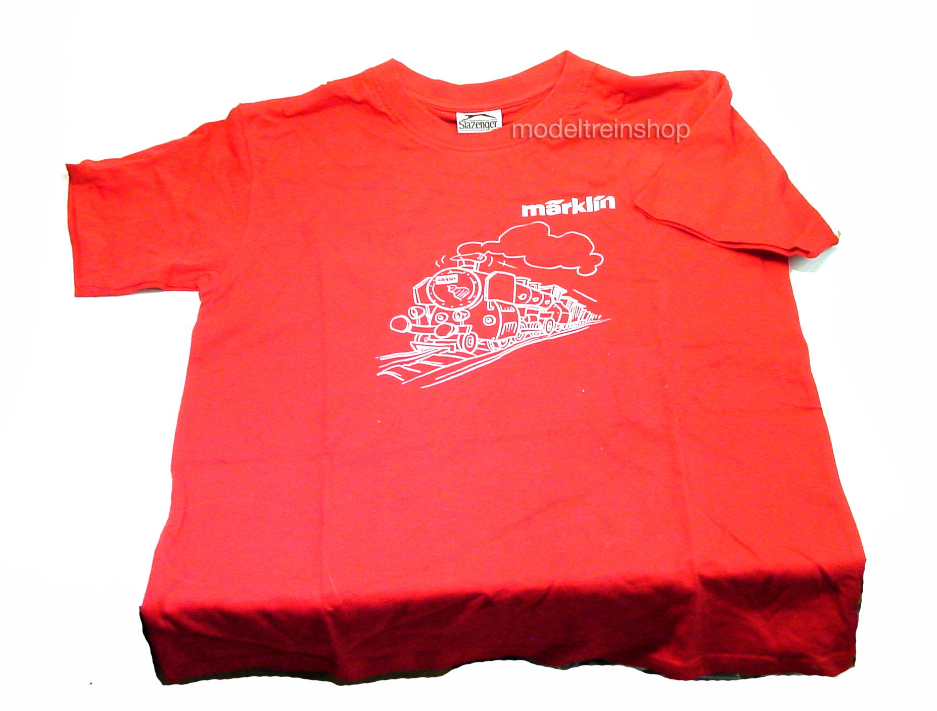 Marklin 12992 T-Shirt Rood - Modeltreinshop