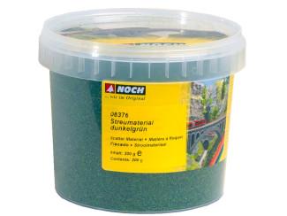Noch 08376 donker Groen Fiber Strooi Gras 200 gram - Modeltreinshop