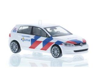 Rietze H0 53204 VW Golf VII Politie Nederland - Modeltreinshop