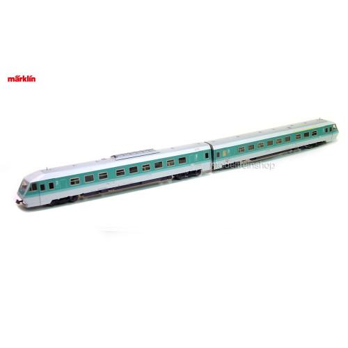 Marklin H0 3074 V2 Diesel Treinstel BR 610 - Modeltreinshop