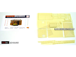 Artitec H0 10.206 Bloemenstal bouwpakket uit resin, ongeverfd - Modeltreinshop