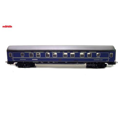 Marklin H0 4029 V3 Slaapwagen WLAB van de ISTG - Modeltreinshop